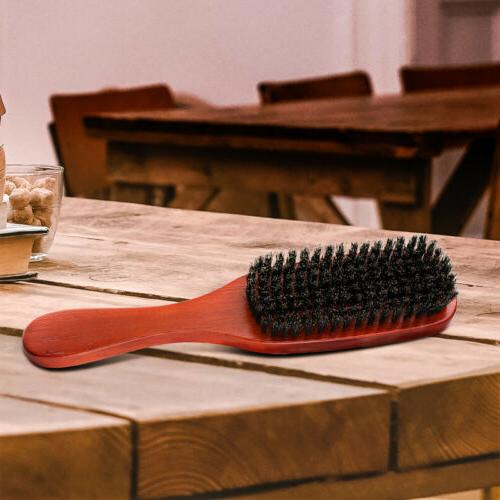 100% Pure Bristle Hair Brush Beard Comb For