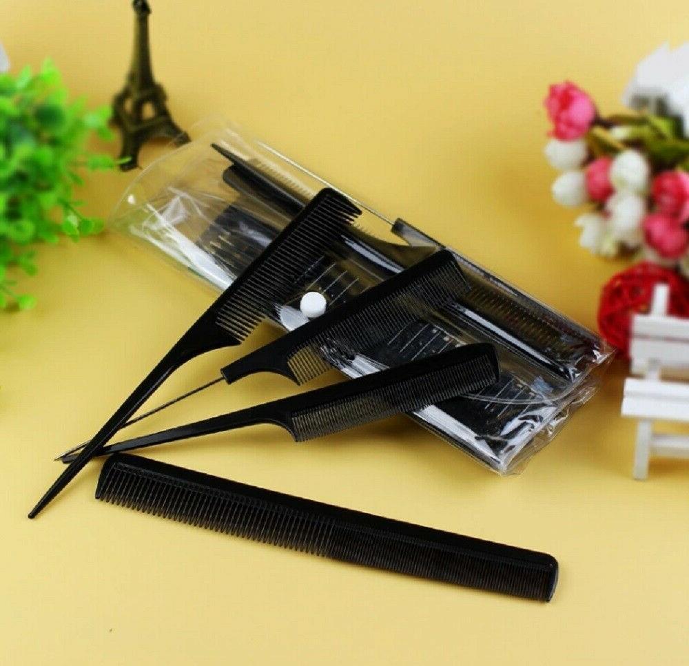 10Pcs Pro Hair Styling Barbers Brush
