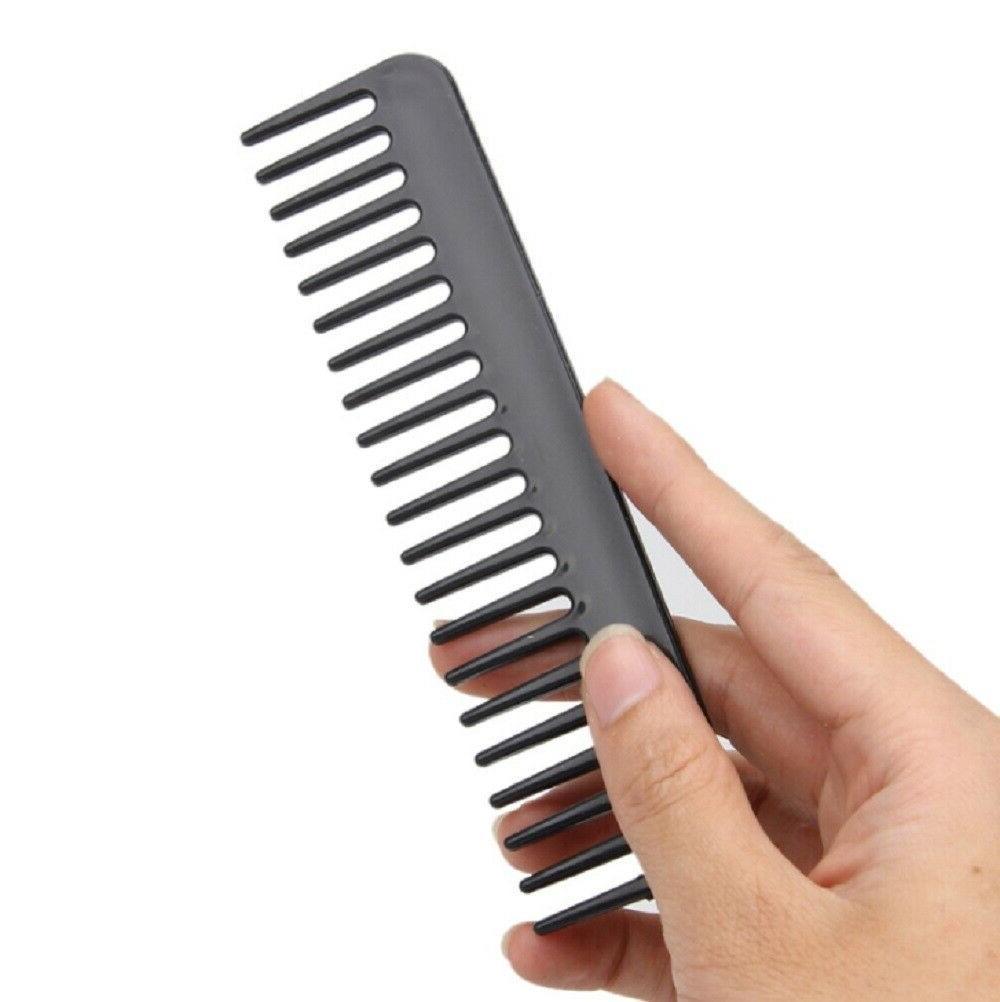 10Pcs Black Hair Plastic Barbers