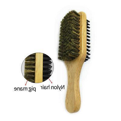 10X(Double-Sided Men's Beard Men's Brush Beard Soft