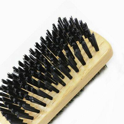 10X(Double-Sided Beard Brush Men's Beard Brush Men's Brush Beard Soft I3B5
