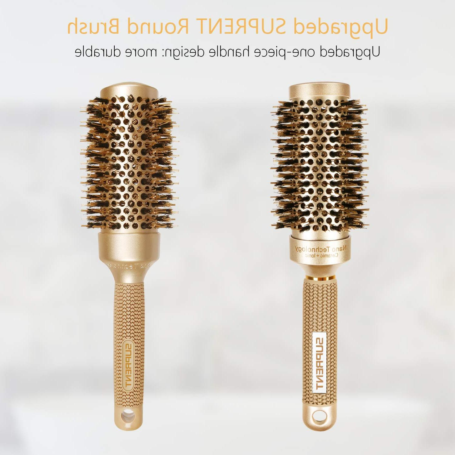 SUPRENT Bristle Round Styling Curling Blow Dry