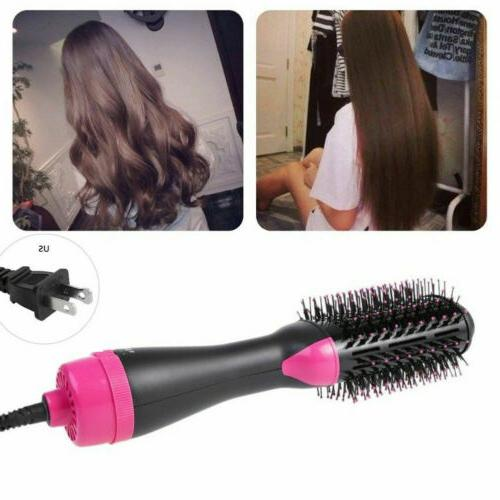 USA Hair Brush Straightening Iron Comb