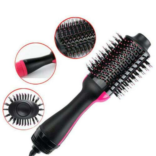 USA One Hair Dryer and Brush Iron Comb