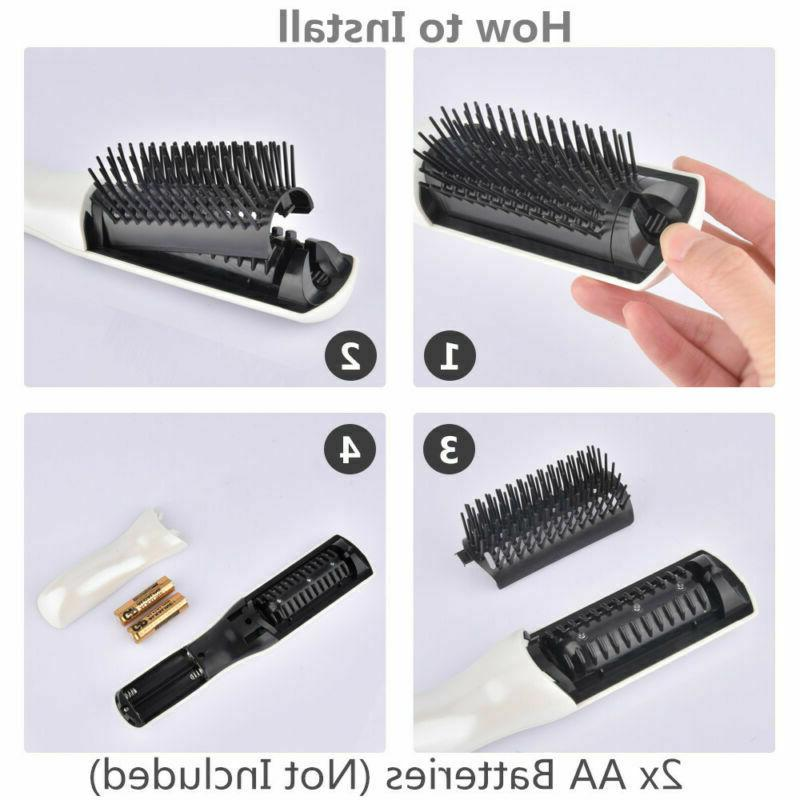 2 in1 Laser Comb Hair Regrowth Hair Brush