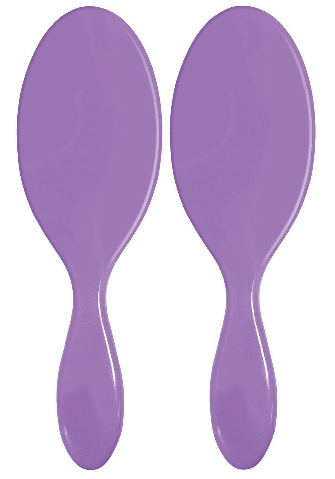 2 Premium Detangling Original Comb Brush Anti Purple NEW