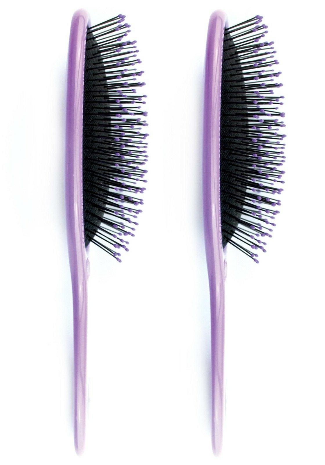 2 Pro Detangling Comb Purple