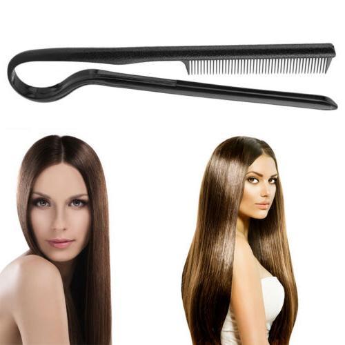 2018 hot smoothing brush hair straightener comb