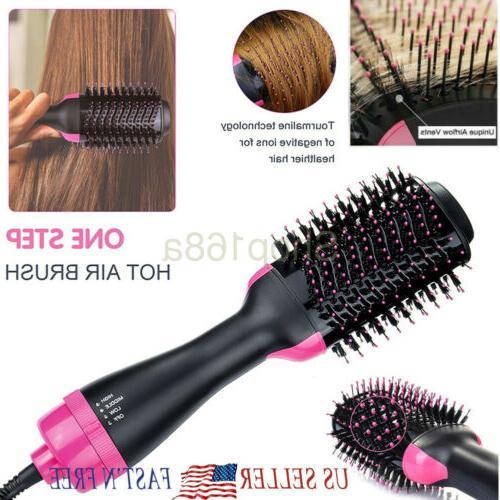 2in1 one step hair dryer volumizer brush