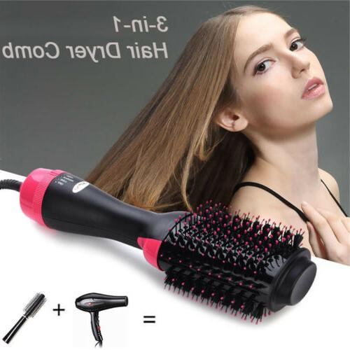 Brush Comb Hair Straightener Tool