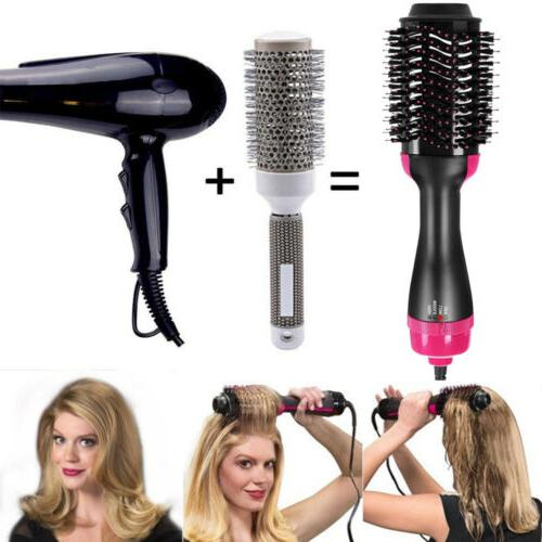 3in1 Hair Dryer Brush Comb Air Tool Beauty