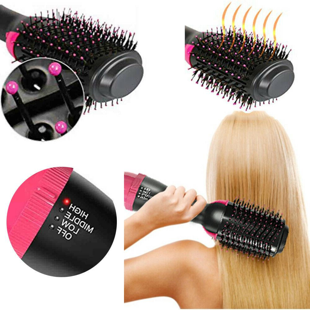 3 Pro Hair Curler Rotating Hairdryer Styling Tool