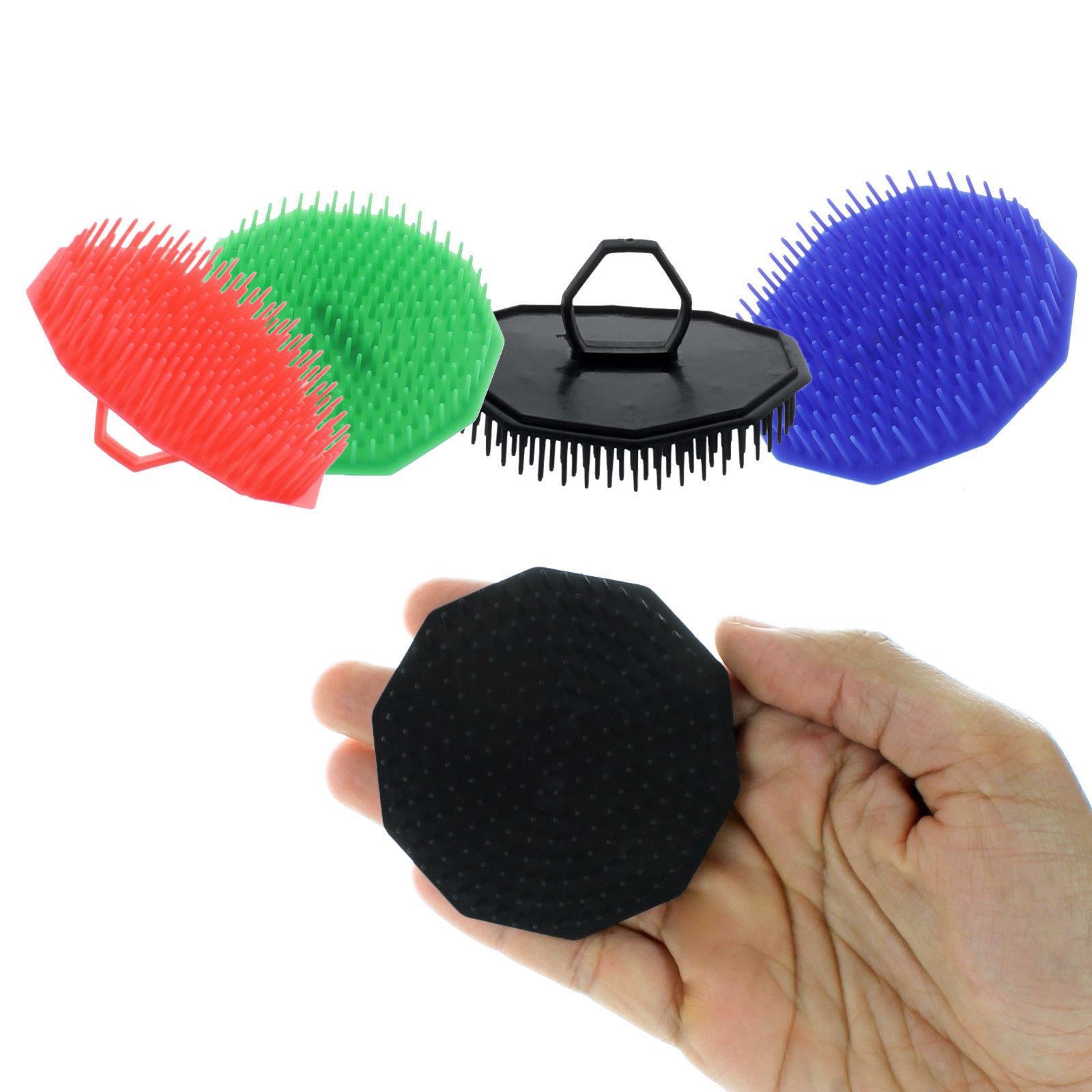 3 pack scalp massage hair brush comb