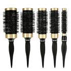 5 Sizes Hair Dressing Brush Ceramic Iron Round Comb Barber S