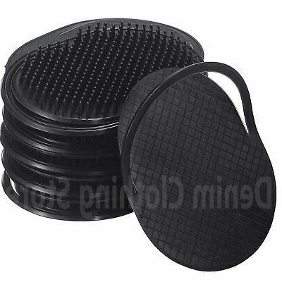 6 pcs Comb Brush Men Mustache Palm Scalp Massager