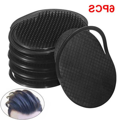 6pcs Pocket Comb Brush Hair Men Beard Mustache Palm Travel S