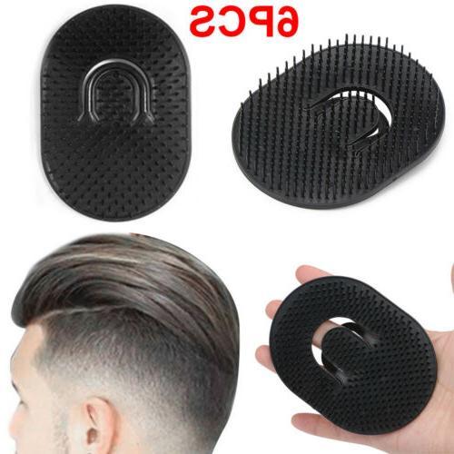 6Pieces Comb Hair Men Palm Travel Scalp Hot