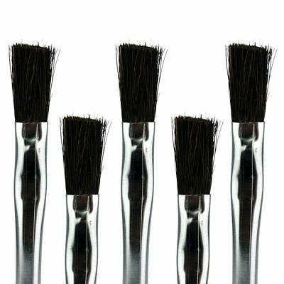 855 5 horse hair cleaning brush pack