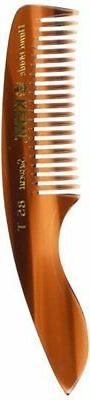 Kent 4 Small Men's Tooth Pocket Comb. Saw-Cut.