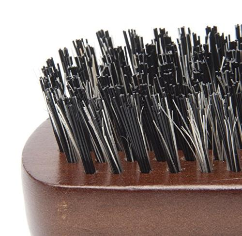 Diane 100% Boar 2-Sided Club Firm Bristles,