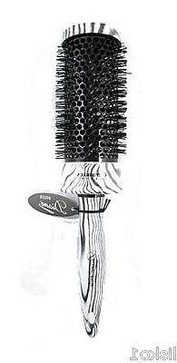 Diane Zebra Thermal Round Brush, 2 Inch