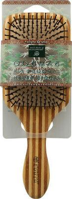 Earth Therapeutics Large Bamboo Lacquer Pin Paddle Brush