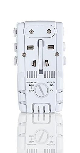 Travel All-In-One Adapter and Combo Europe UK Italy Spain