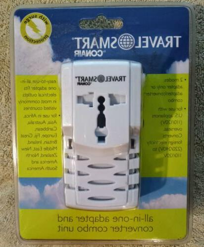 Travel Smart by Conair All-In-One Adapter and Converter Comb