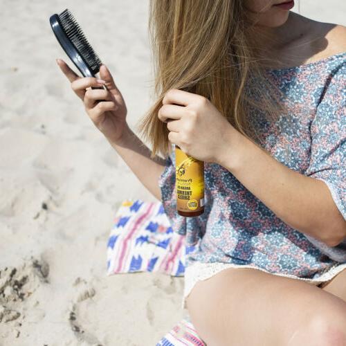 Argan Oil Hair Protector Spray oz Heat Protectant Against Flat Iron