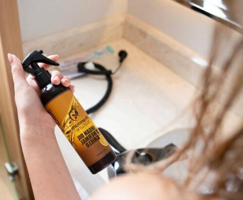 Argan Oil Hair Spray Heat Protectant Iron
