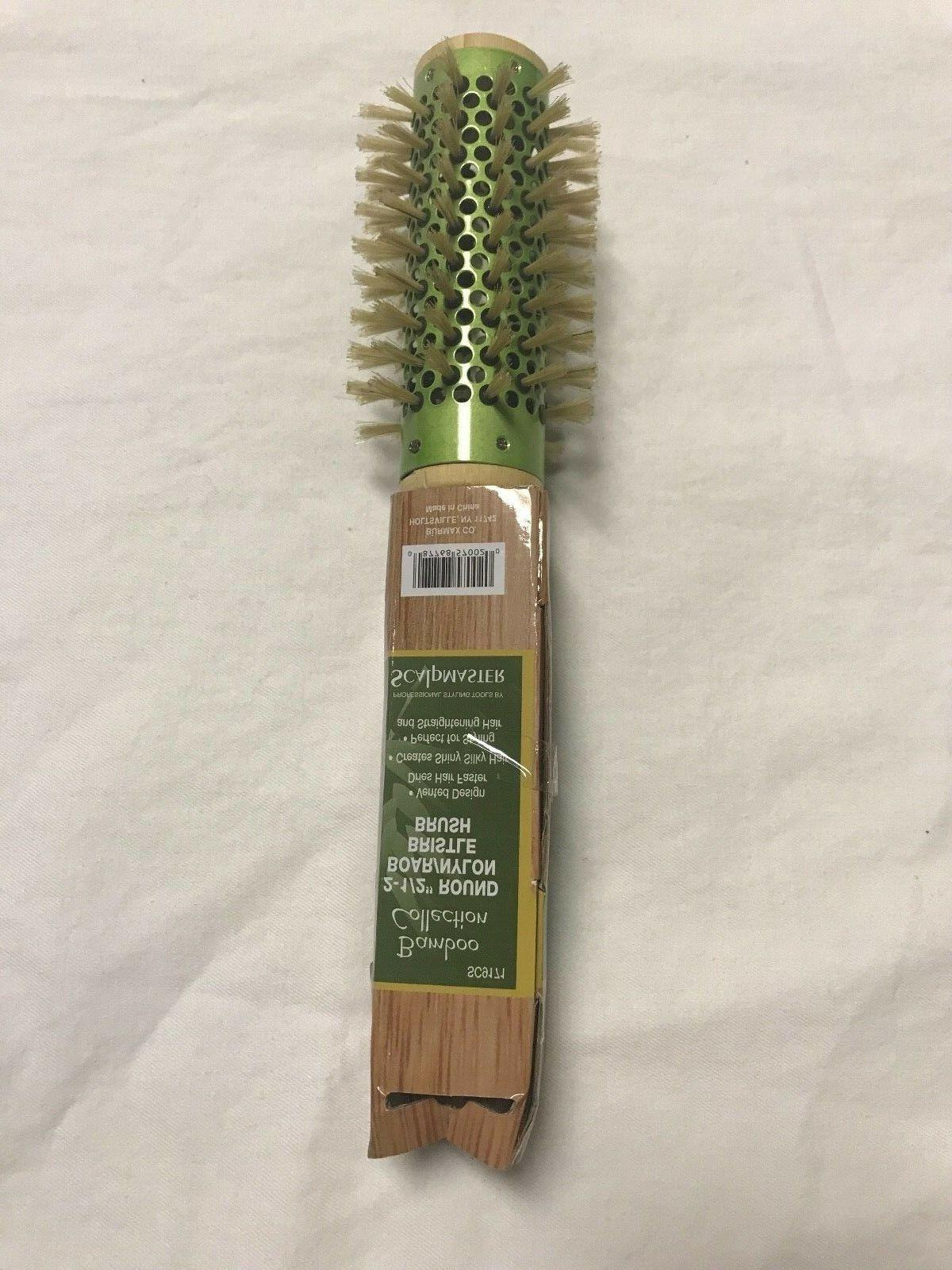 bamboo boar bristle brush 2 1 2