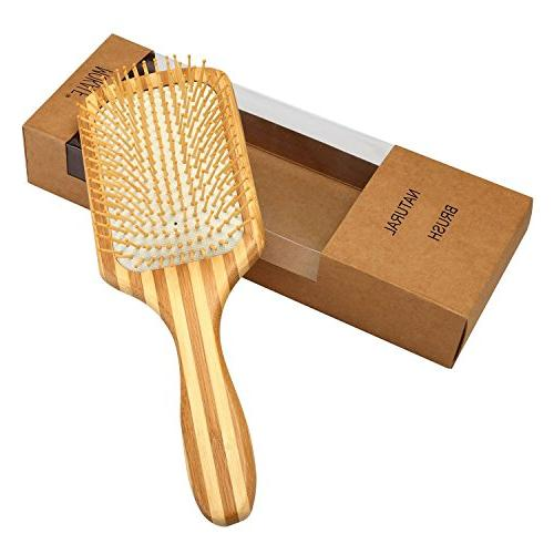 Mokale Bamboo Hair Brush-Detangling Hair Comb Eco Friendly Box for All Hair Types