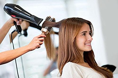 Blow-dry brush Natural Salon-Like Curling - for Hair Want Bounce Stylish Curls