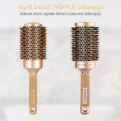 Thermic Ionic Round Barrel Hair with Best Roller for Drying, Curling &Straightening