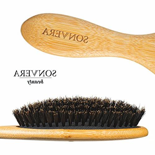 Hair bristle hair brush for boars hair brushes brush hair,soft natural wooden hard hair brush