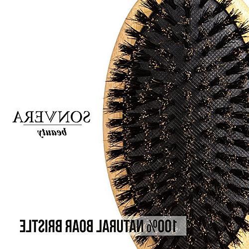 Hair brush, bristle brush, hair for men, boars boar brush,hair brushes for hair,soft natural bamboo hard bristle hair brush