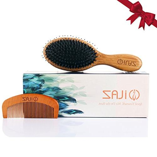 boar bristle hair brush comb