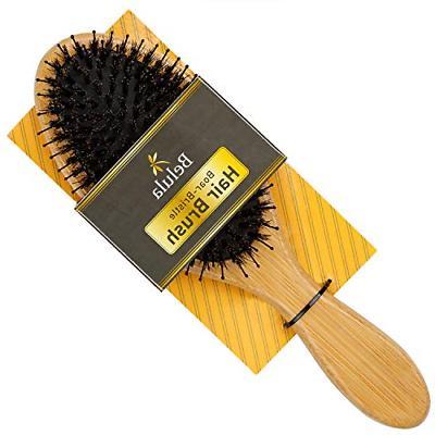 boar bristle hair brush for women