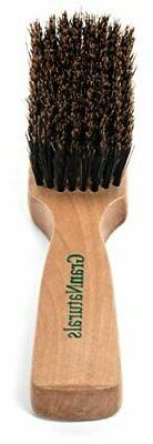 GranNaturals Mens Boar Bristle Hair Brush - Natural Wooden C