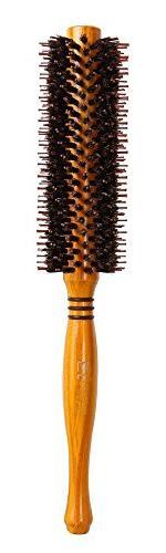 Meta-C Natural Boar Bristle Round Brush – Hair Rolling Bru