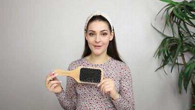 GranNaturals Boar + Bristle Hair - Square