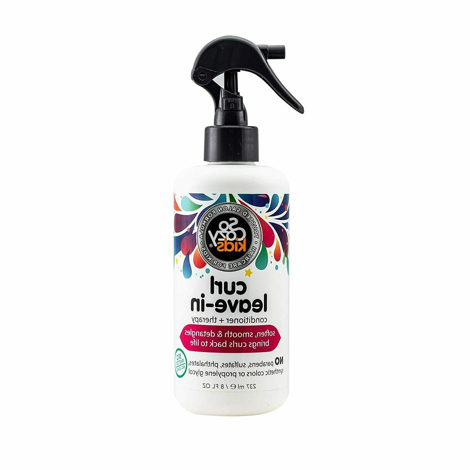 SoCozy Boing Curl Leave-In Conditioner, 8 Fluid Ounce