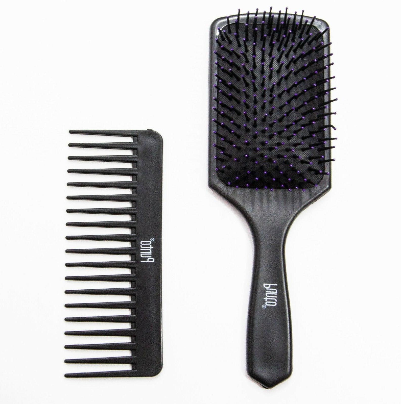 BRAND NEW PRO PADDLE HAIR BRUSH WIDE MASSAGE SCALP