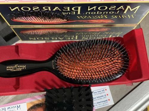 Mason Pearson Bristle Nylon Brush BN1 Dark Open