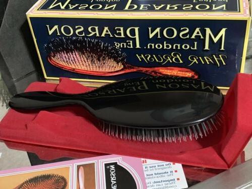 Mason Pearson Bristle Nylon Popular Brush Open