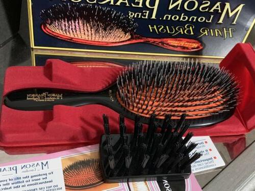Mason Bristle Brush Open Box