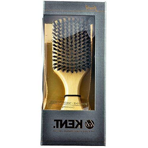 Kent OG2 Finest Gentleman's Brushes Wood Hairbrush,