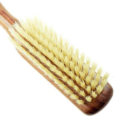 Kent Finest Women's Danta Wood, Soft Bristle, Brush - Fine Thinning Shine/Stimulates Scalp