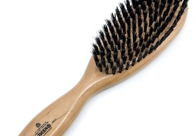 brushes oval cherry wood hairbrush