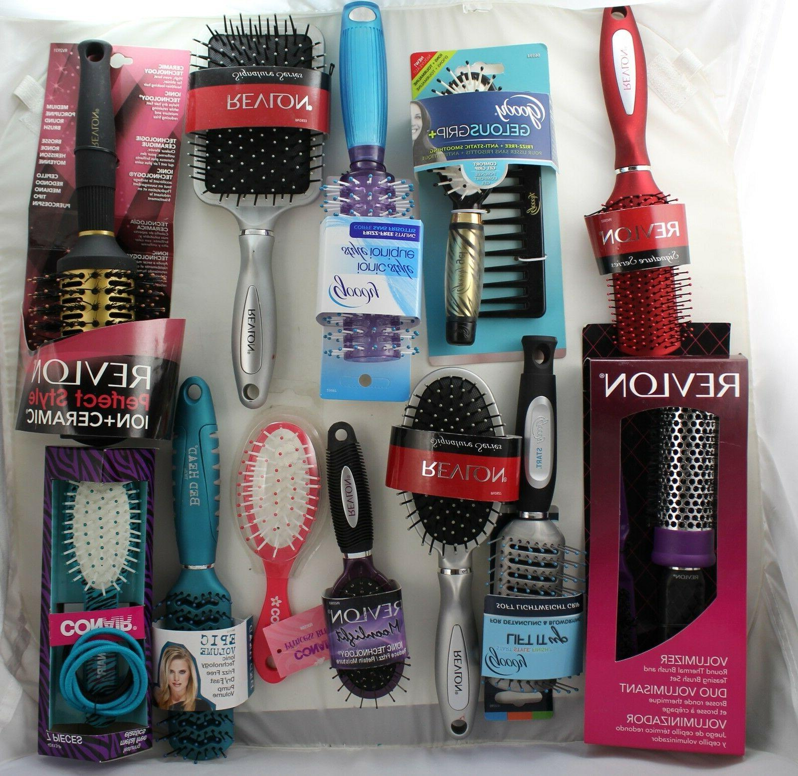 Bulk of 100 Goody, Conair, Vidal Sassoon Women Brush